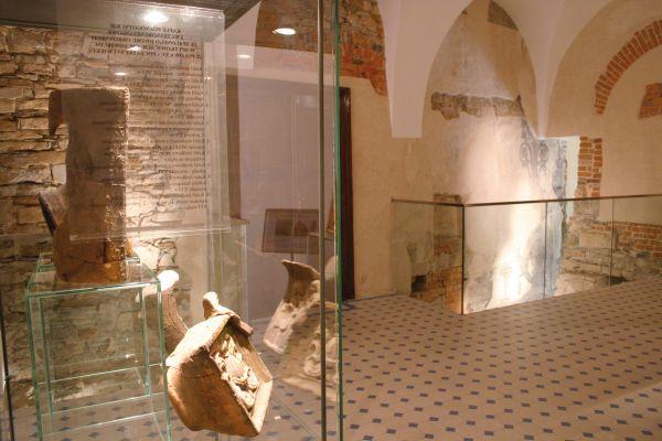 Sala z Rycerzem w Muzeum w Bielsku-Białej