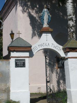 Sanktuarium w Brzesku koło Pyrzyc - brama