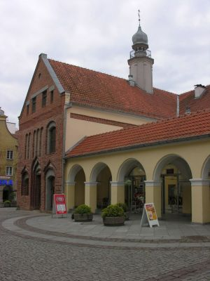 Siedziba Wojewódzkiej Biblioteki Publicznej w Olsztynie - Stary Ratusz