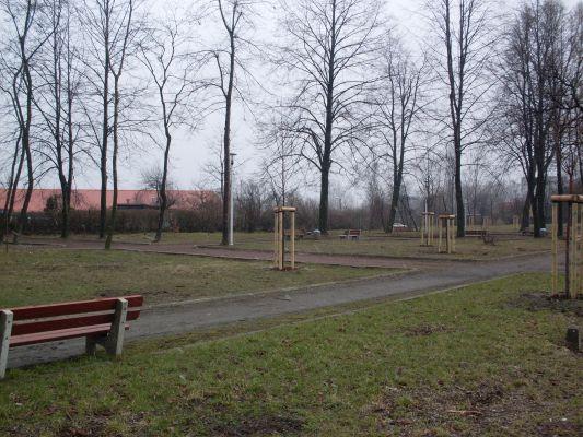 Skwer w Świętochłowicach-Piaśnikach