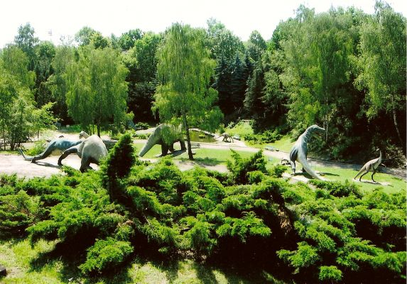 Śląski Ogród Zoologiczny - kotlina dinozaurów