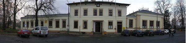 Stacja kolejowa w Oławie