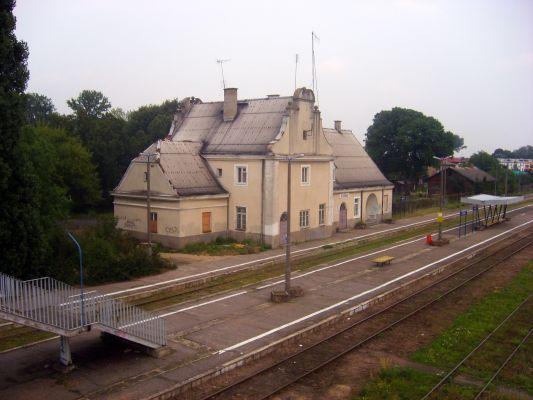 Stacja kolejowa w Płońsku