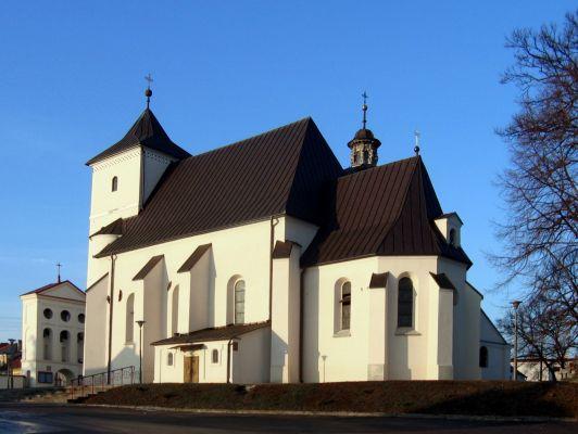 Stare Miasto, kościół pw. św. Bartłomieja w Staszowie