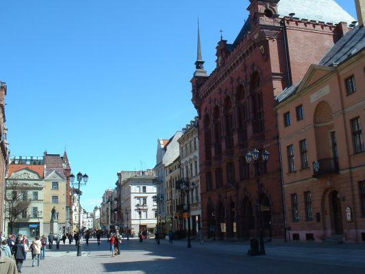 Stare Miasto w Toruniu, południowa część Starego Rynku