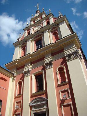 Staromiejski kościół Jezuitów w Warszawie