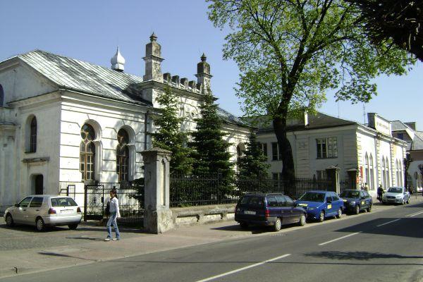 """Synagoga i Żydowski """"dom nauki"""""""