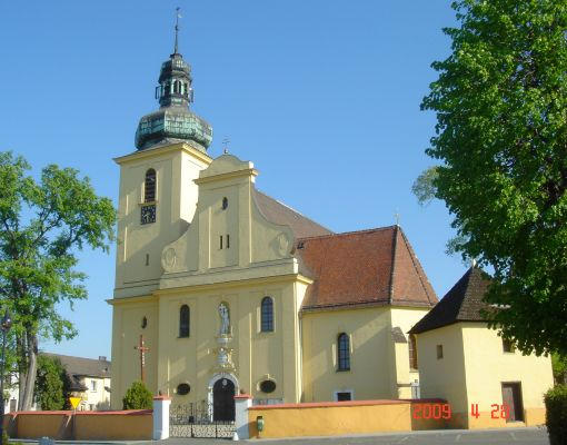 Tarnów Opolski - kościół rzymskokatolicki, parafialny pw. św. Marcina Biskupa