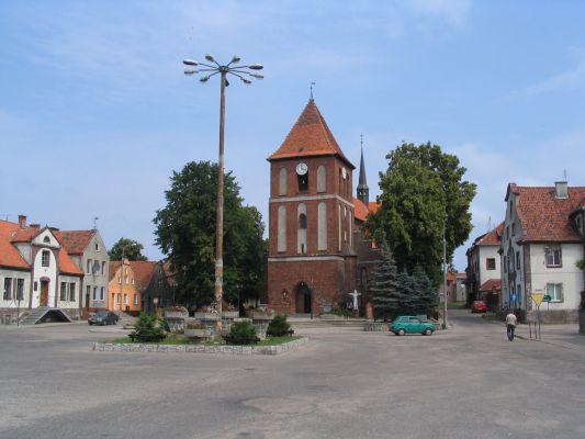 Tolkmicko, centrum