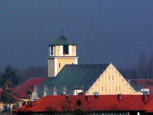 Toruń-Bielany, kościół św. Józefa