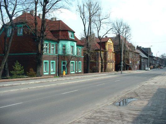 Ulica Wociecha Korfantego w Radlinie