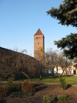 Wieża Bramna Wschodnia tzw. Polska w Bycinie