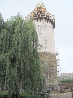 Wieża Woka (Wilka) w Prudniku - w remoncie