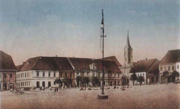 Wodzisławski rynek ok. 1914r.