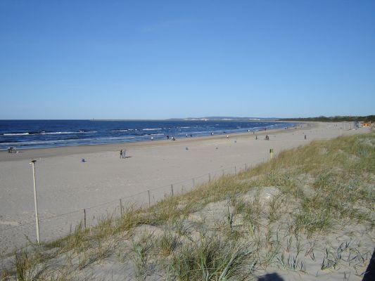 Wydmy i plaże w Świnoujściu