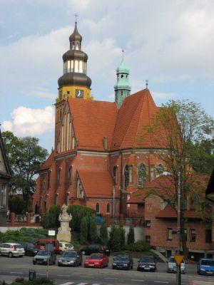 Zabytkowy Kościół Parafialny w Wodzisławiu Śląskim
