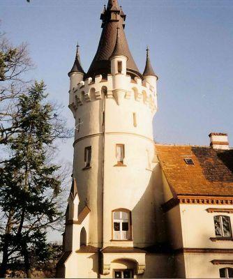 Zachodnia wieża zamku w Toporowie
