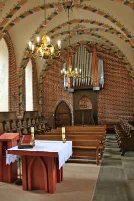 Zamek Bierzgłowski - kaplica