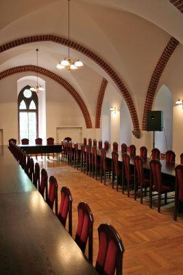 Zamek Bierzgłowski - wielka sala