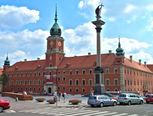 Zamek Królewski w Warszawie i kolumna Zygmunta