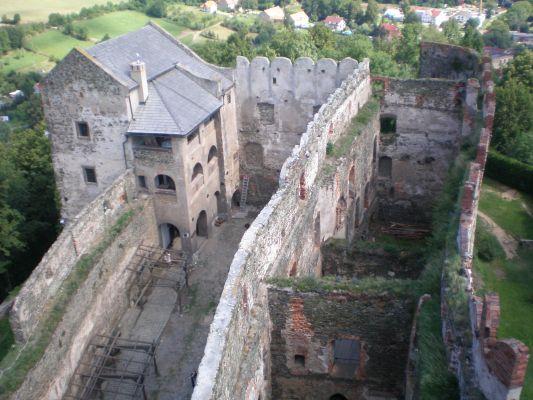 Zamek w Bolkowie – widok z baszty