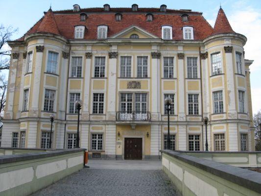 Zamek w Leśnicy, jednej z dzielnic Wrocławia