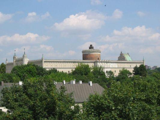 Zamek w Lublinie, widok z Placu Zamkowego