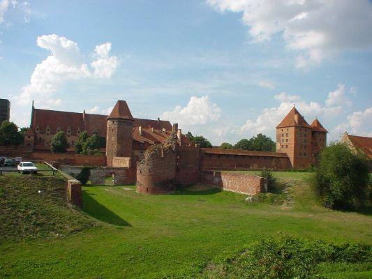 Zamek  w Malborku - fortyfikacje