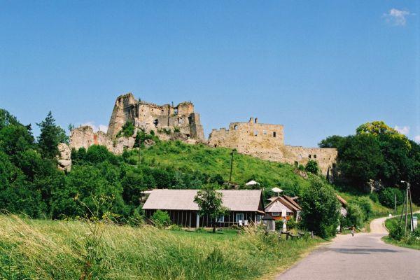 Zamek w Odrzykoniu, niedaleko Krosna