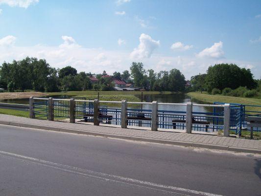 Zbiornik retencyjny na rzece Bystrzycy w Zakrzówku