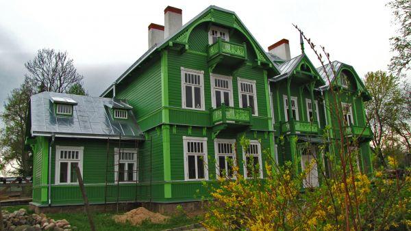 Zielona willa  w Różanymstoku