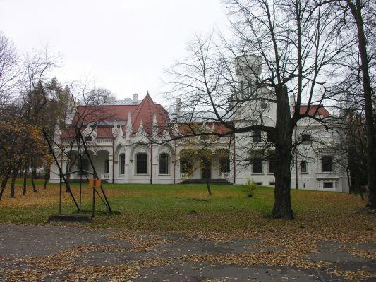 Pałac w Jaśle. Dzielnica Gorajowice