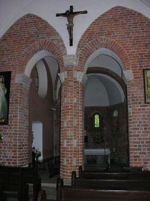 Wnętrze kościoła św. Idziego we Wrocławiu