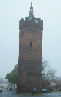 Wieża Bramy Ostrowskiej w Gubinie
