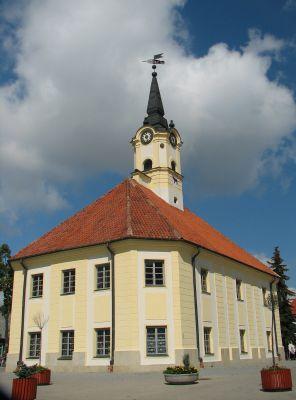 Ratusz barokowy z 1776 w Bielsku Podlaskim