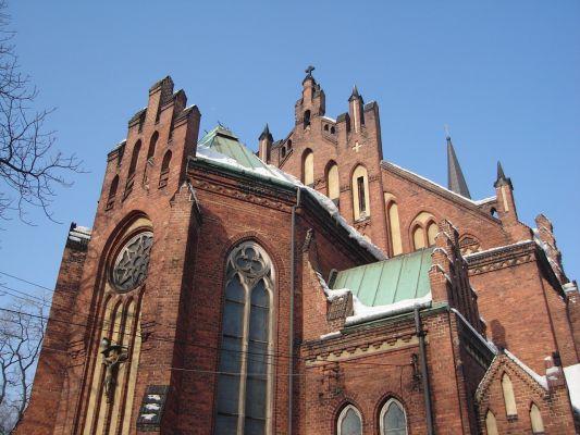 Kościół w dzielnicy Niwka w Sosnowcu