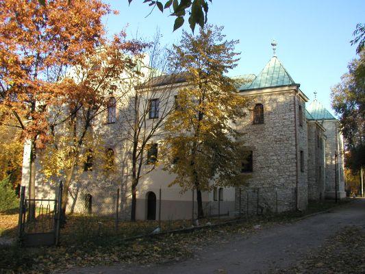 Zamek Sielecki w Sosnowcu - strona tylna