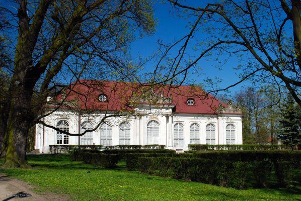 Oranżeria przy pałacu Potockich w Radzyniu Podlaskim