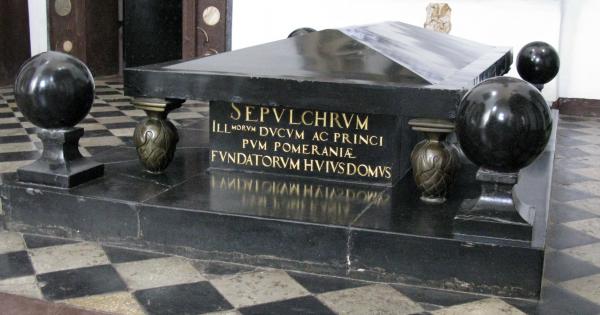 Nagrobek książąt pomorskich w archikatedrze oliwskiej