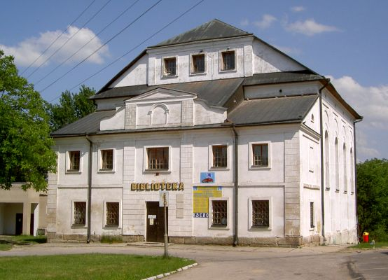 Dawna synagoga w Tarnogrodzie