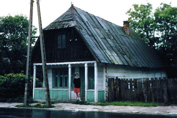 Pożydowski dom z XIX wieku w Tarnogrodzie