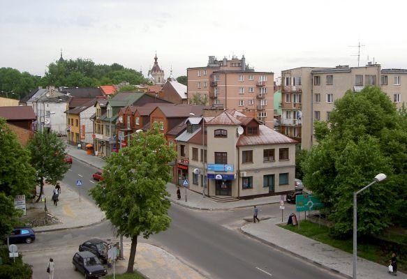 Tomaszów Lubelski - centrum