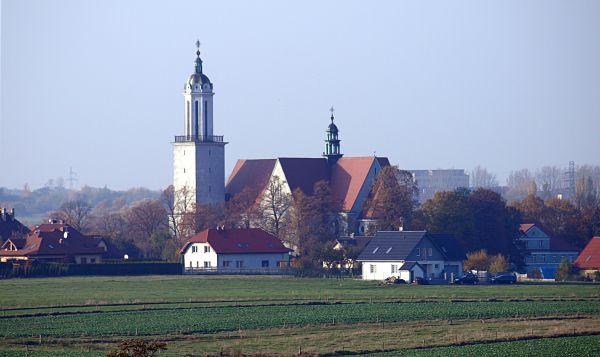 Kościół parafialny w Gliwicach w dzielnicy Wójtowa Wieś