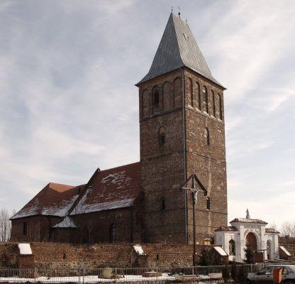 Kościół św. Katarzyny Aleksandryjskiej we wsi Święta Katarzyna