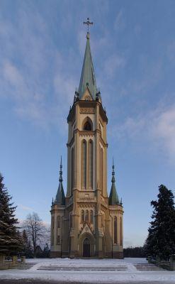 Kościół parafialny w Wilamowicach