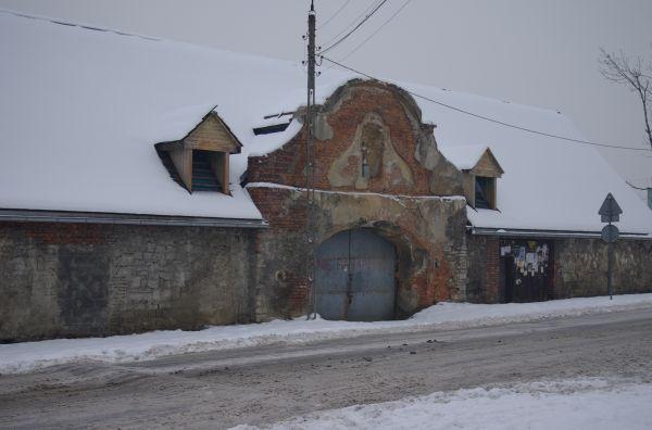 Kozy - Święty Florian - zabytkowy zajazd