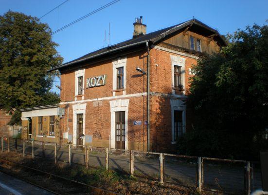 Stacja kolejowa Kozy