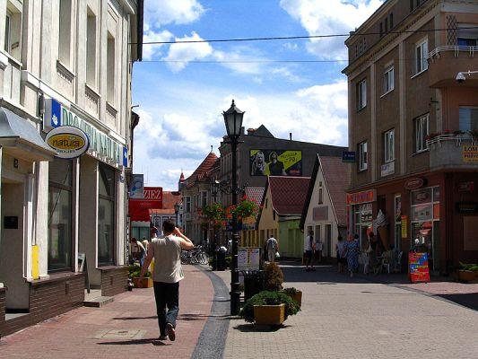 Ulica 1 Maja (deptak) w Gostyniu