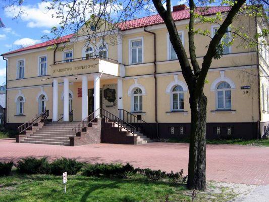 Budynek Starostwa Powiatowego w Słupcy