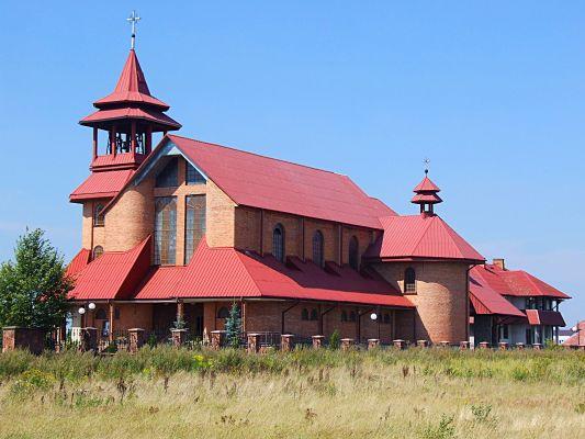 Skarżysko Książęce - Kościół pw. Matki Boskiej Częstochowskiej
